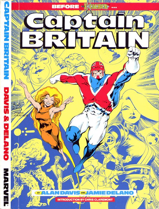 Captain Britain #1 - TPB