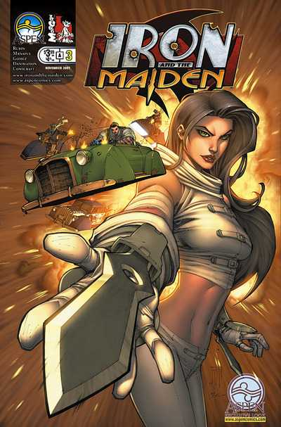 Iron and the Maiden #3