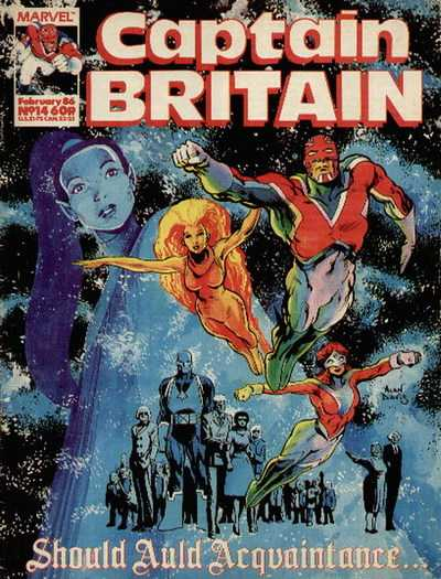 Captain Britain Vol.2 #1-14 Complete
