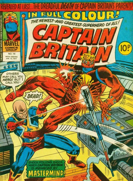 Captain Britain Vol.1 #1-39 Complete