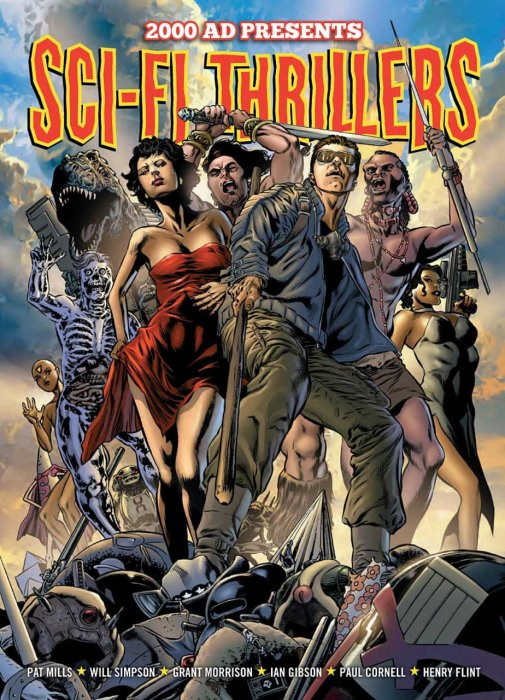 2000AD Presents - Sci-Fi Thrillers #1 - TPB