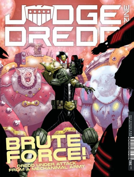 Judge Dredd The Megazine #391