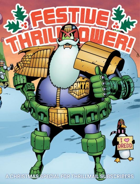 2000AD Festive Thrillpower 2017