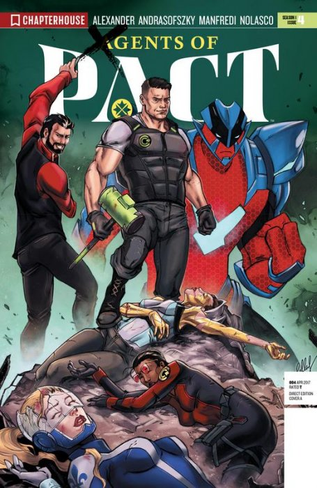 Agents of P.A.C.T.  #4