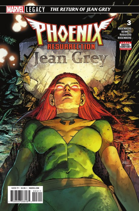 Phoenix Resurrection - The Return of Jean Grey #3