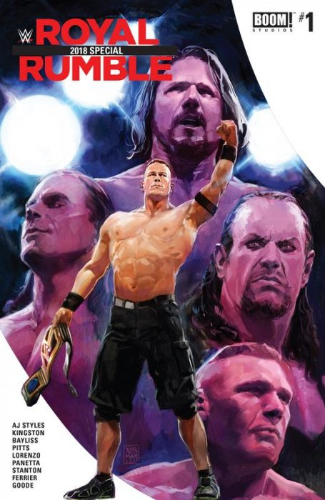 WWE Royal Rumble 2018 Special #1