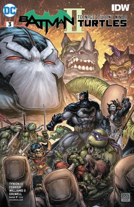 Batman - Teenage Mutant Ninja Turtles II #3
