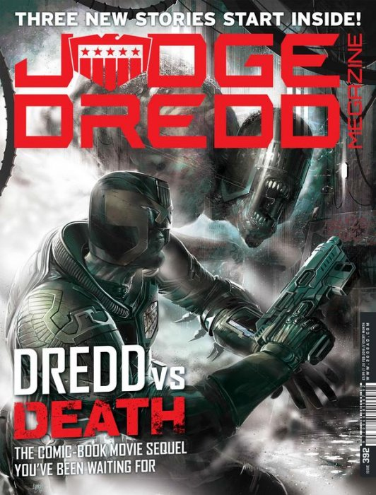 Judge Dredd The Megazine #392