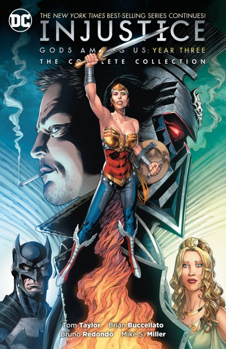 Injustice Gods Among Us Year Three Complete Collection #1 - TPB