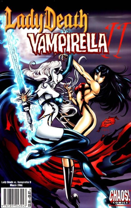Lady Death vs Vampirella #1-2