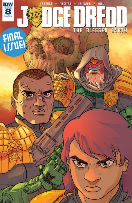 Judge Dredd - The Blessed Earth #8