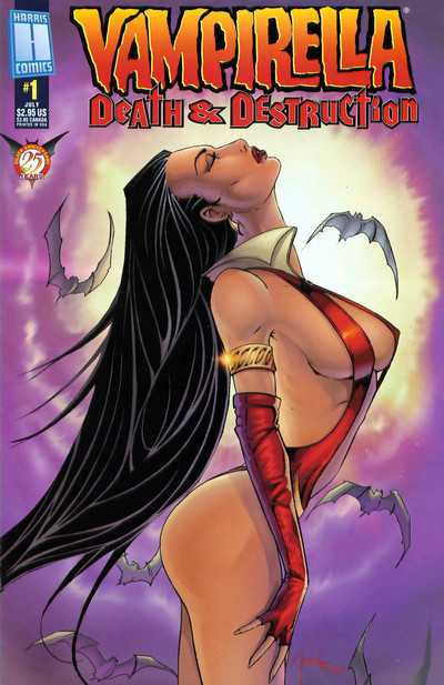 Vampirella - Death & Destruction #0-3 Complete