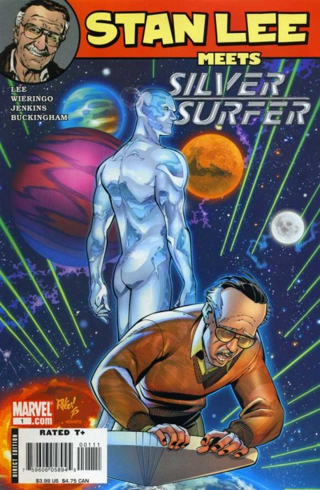 Stan Lee Meets Silver Surfer #1