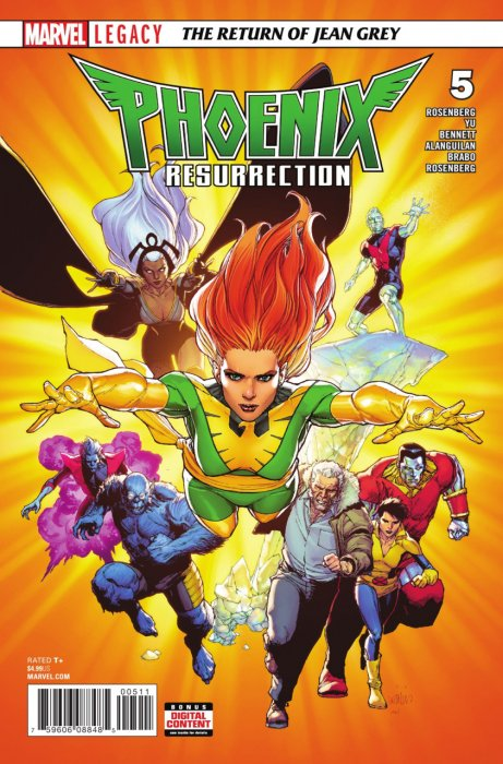 Phoenix Resurrection - The Return of Jean Grey #5