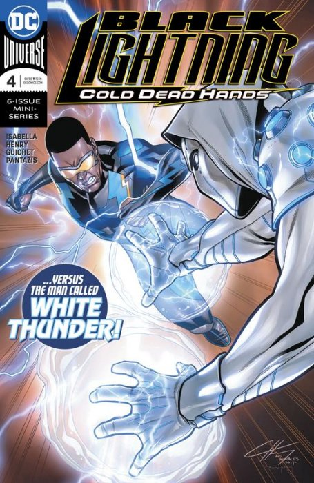 Black Lightning - Cold Dead Hands #4