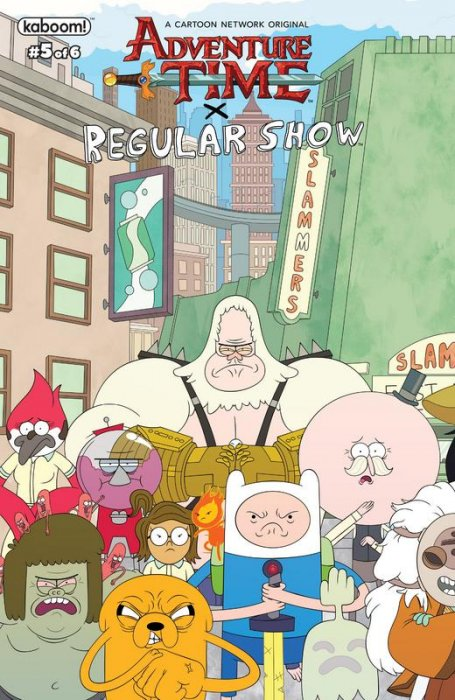 Adventure Time - Regular Show #5