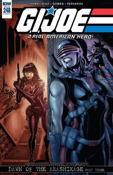 G.I. Joe - A Real American Hero #248