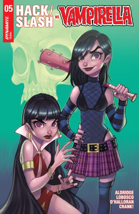 Hack-Slash vs Vampirella #5