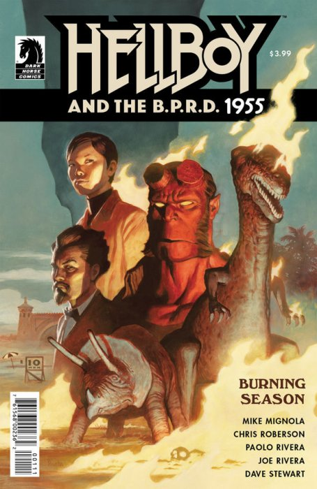 Hellboy and the B.P.R.D. - 1955 - Burning Season #1