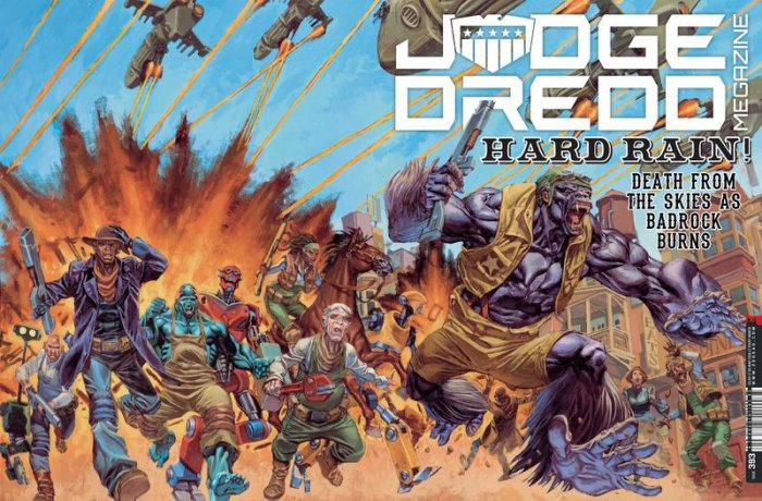 Judge Dredd The Megazine #393