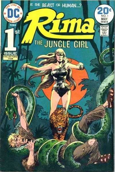 Rima the Jungle Girl #1-5 Complete