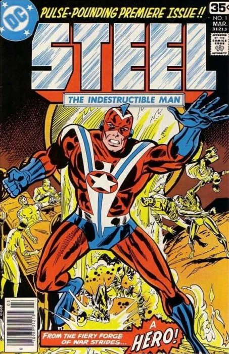 Steel, the Indestructible Man #01-05