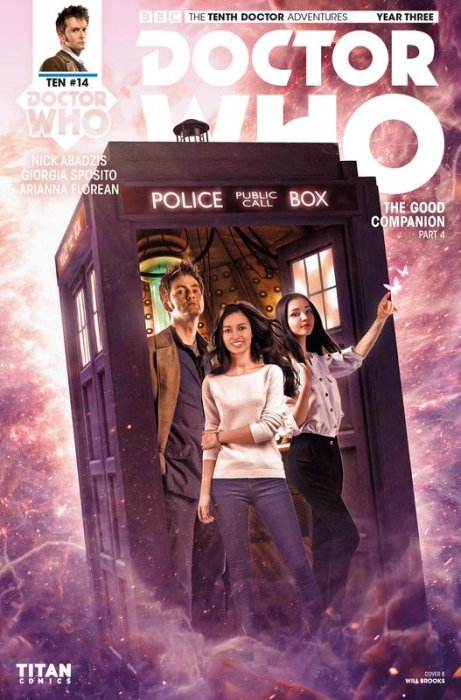 Doctor Who - The Tenth Doctor Year Three #14