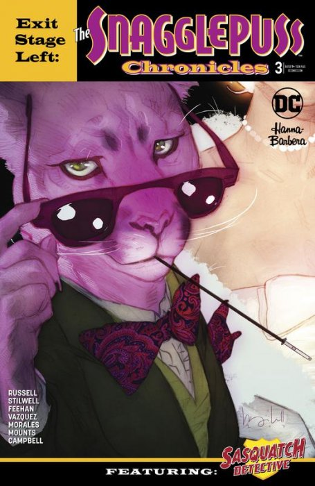 Exit Stage Left - The Snagglepuss Chronicles #3