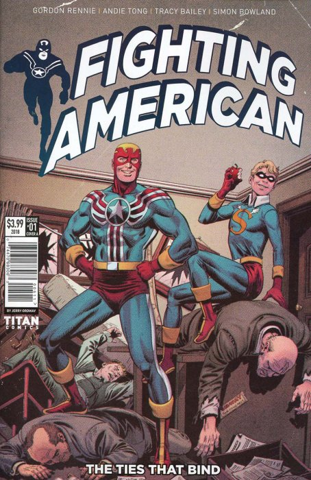 Fighting American Vol.2 - The Ties That Bind #1