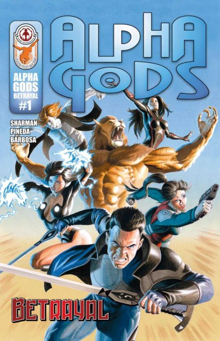 Alpha Gods - Betrayal #01-03