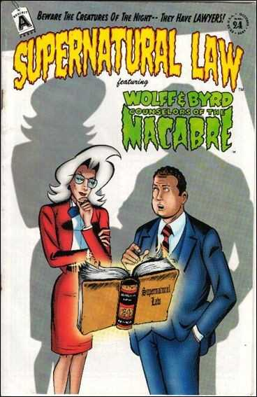 Supernatural Law #24-29,35,36,39 + Big 1st Amendment