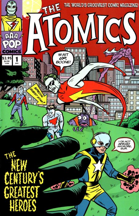 The Atomics #01-15 Complete