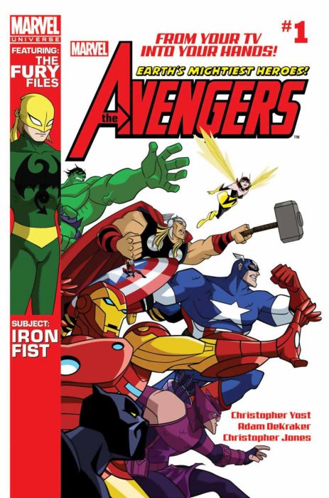 Marvel Universe - Avengers Earth's Mightiest Heroes #01-18 Complete