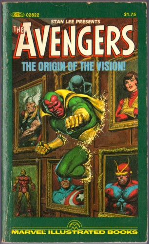 Avengers - The Origin of the Vision (fc and bc only)