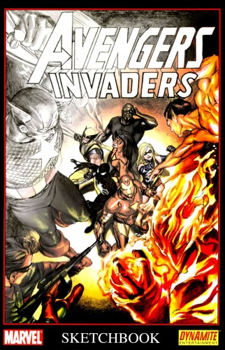 Avengers - Invaders Sketchbook