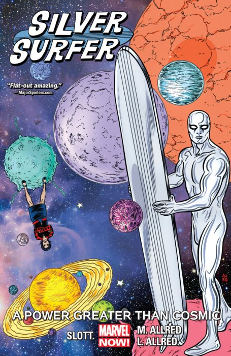 Silver Surfer Vol.5 - A Power Greater Than Cosmic