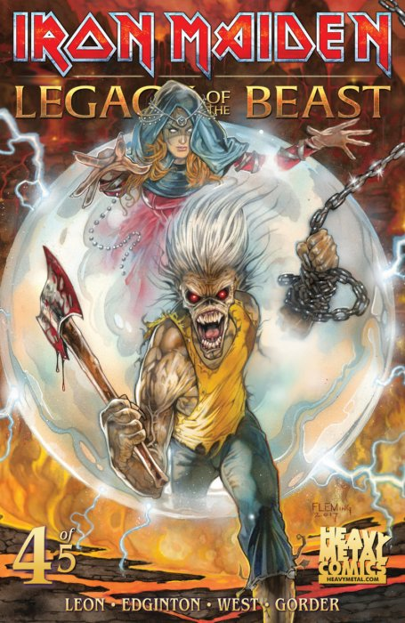 Iron Maiden Legacy of the Beast #4
