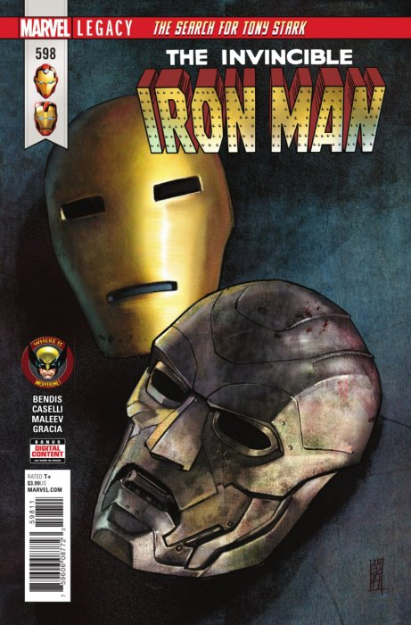 Invincible Iron Man #598
