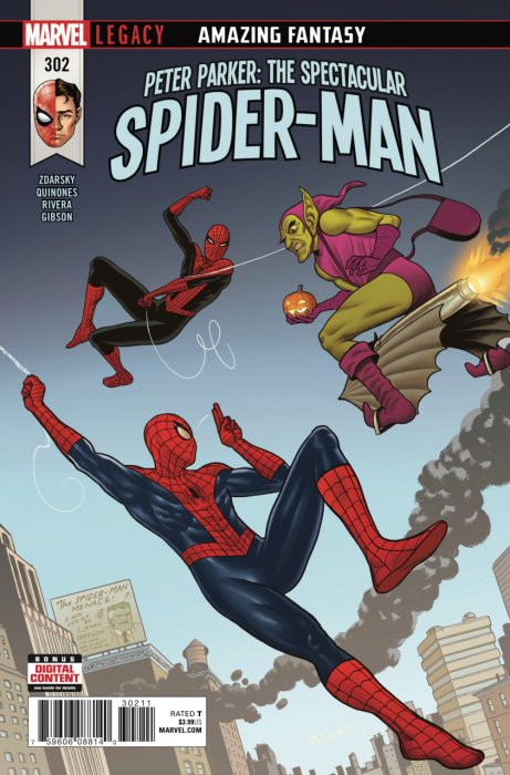 Peter Parker - The Spectacular Spider-Man #302