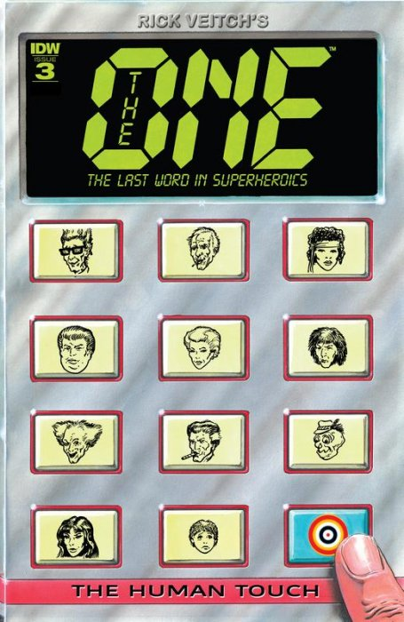 Rick Veitch's The One #3