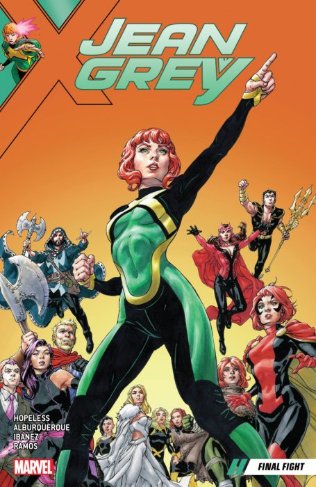 Jean Grey Vol.2 - Final Fight
