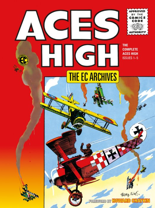The EC Archives - Aces High #1 - HC
