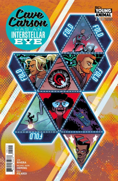 Cave Carson Has an Interstellar Eye #2