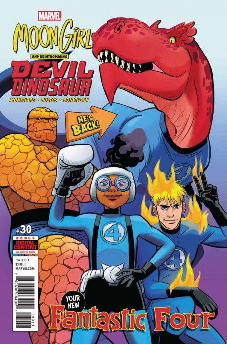 Moon Girl and Devil Dinosaur #30