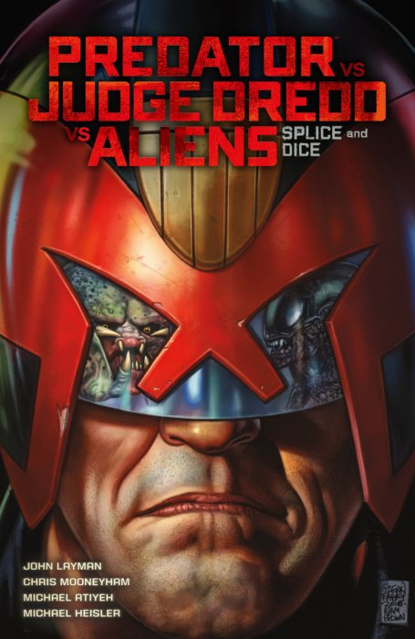 Predator vs. Judge Dredd vs. Aliens - Splice and Dice #1 - TPB