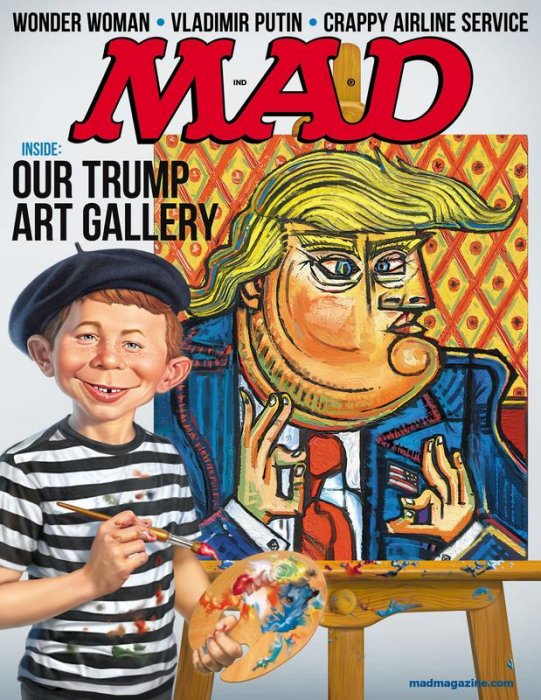 MAD Magazine #547-550 Complete