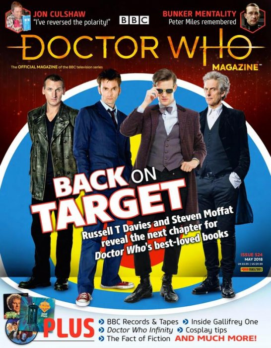 Doctor Who Magazine #524