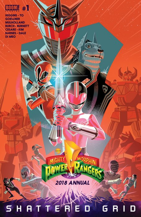 Mighty Morphin - Power Rangers Annual 2018