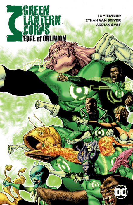 Green Lantern Corps - Edge of Oblivion #1 - TPB