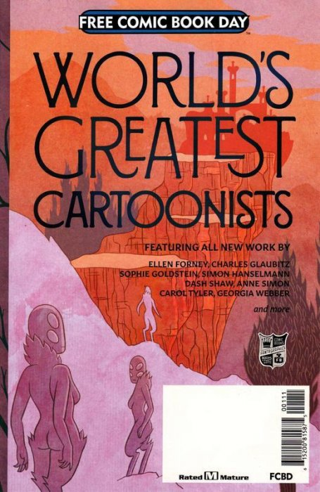 FCBD2018 - Worlds Greatest Cartoonists